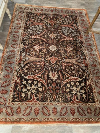 Silk Persian Area Rug