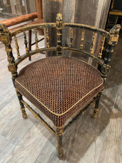 Italian Antique Corner Chair