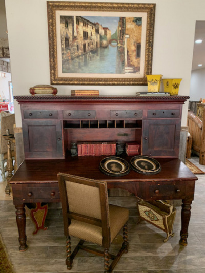 """Butler's Desk - Classical Style 1840""""s"""