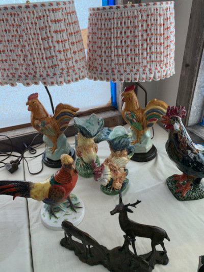 Rooster Lamps