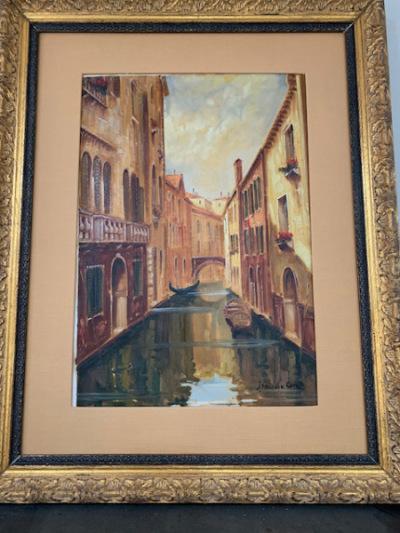 """Oil """"Venice"""""""