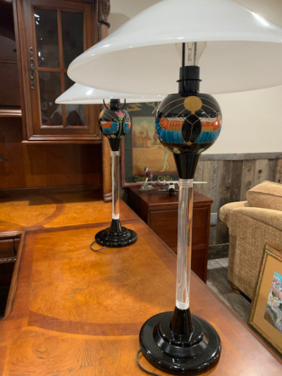 Egyptian Lamps (close)