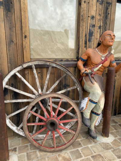 Life Size Indian