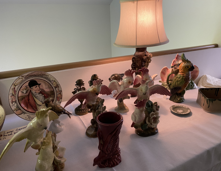 CA Pottery Bird Collection
