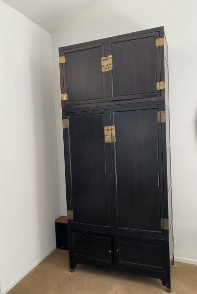 Tall Chinese 3-Piece Cabinet