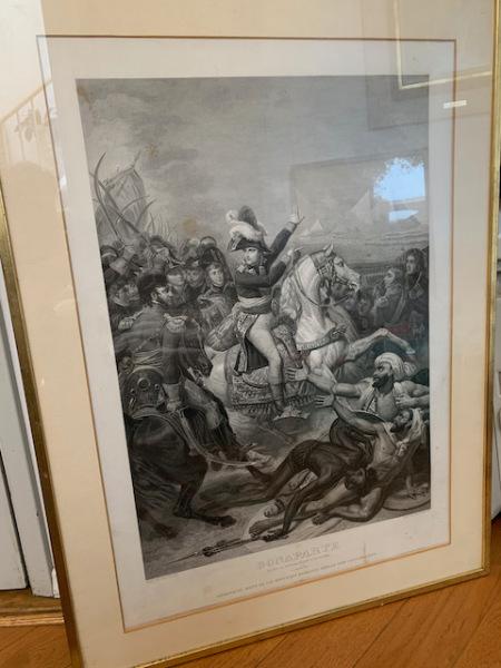 """Etching """"Napoleon"""" 1810"""
