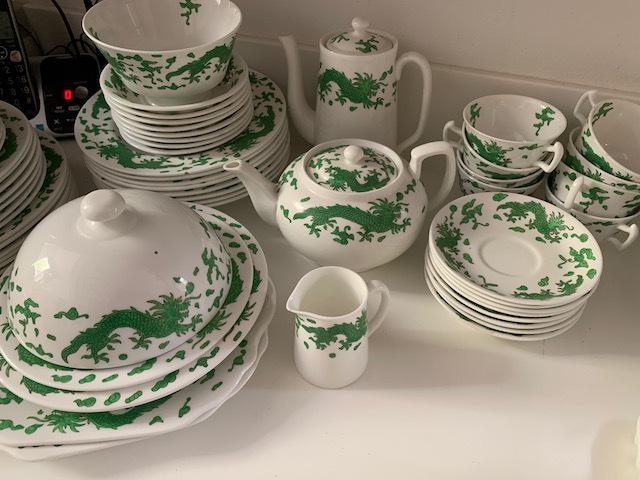 """Hammersley China """"Green Dragon"""""""