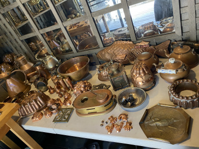 Copper Bowls, Pans and More