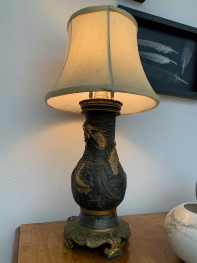 Metal Dragon Lamp