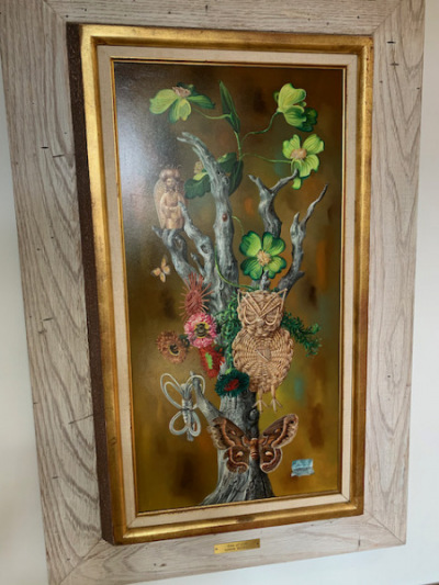 """Oil by Aaron Bohral """"Tree of Life"""""""