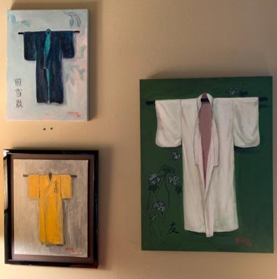 """Oils """"Kimonos"""""""