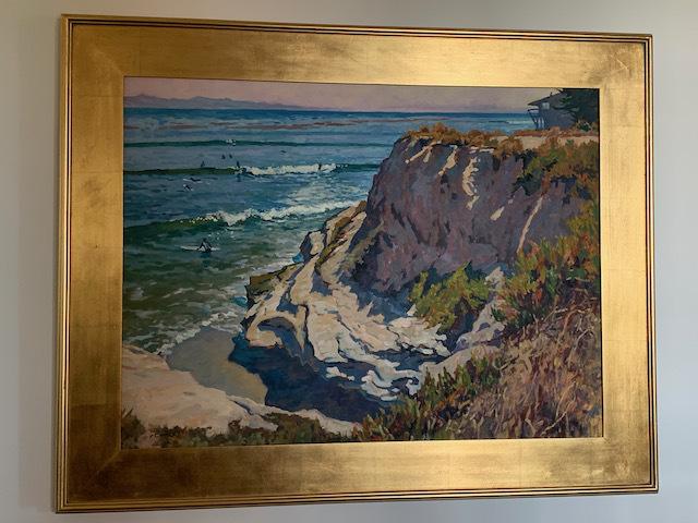 Oil by John Comer