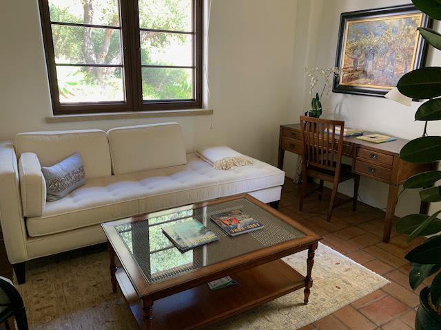 Sheared Velvet Sofa