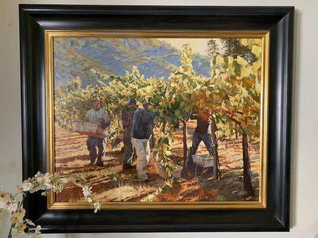 "Oil by Craig Nelson ""Autumn Harvest"""