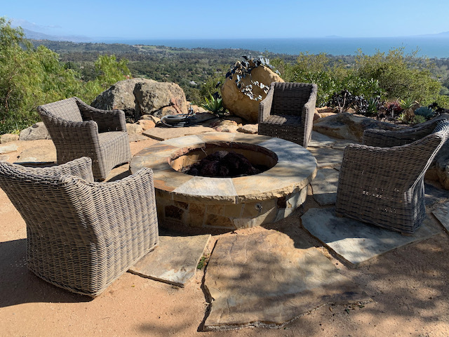 Set of Wicker Patio Chairs