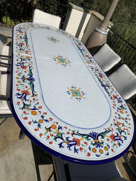 Ceramic Table (close)