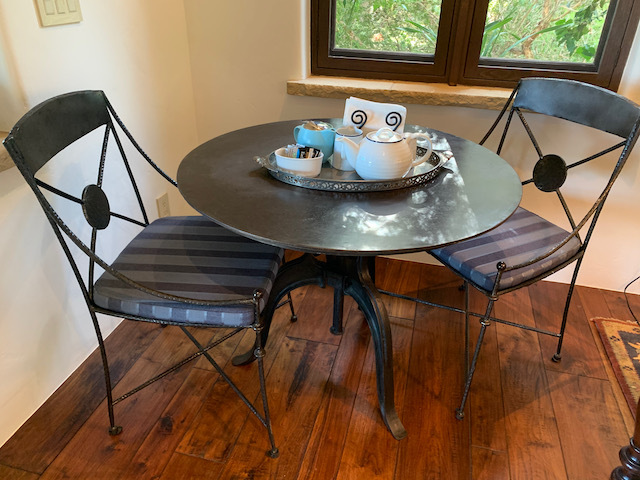 Industrial Round Metal Table