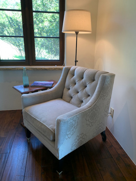 Pale Gray Chair (close)