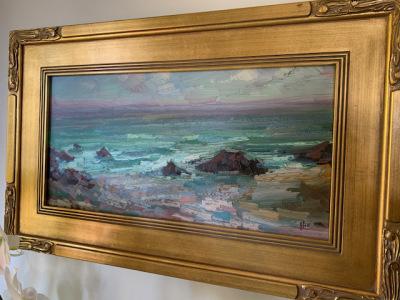"""Oil """"Oregon Sea. Coast"""""""