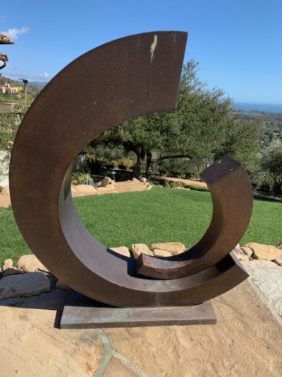 Metal Garden Sculpture