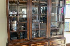 Breakfront with Glass Upper Doors