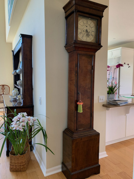 Grandfather Clock, Courter Ruthin, 1700