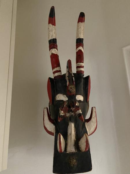 Fire Spitter Mask Senufu Ivory Coast