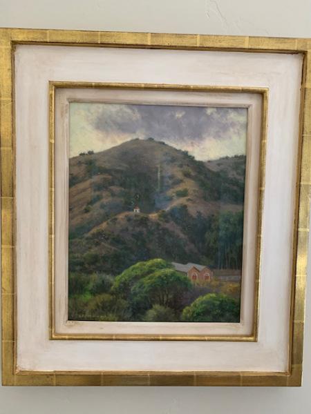 "Oil by Glenna Hardman ""Dusk at Prisoner's Harbor"""