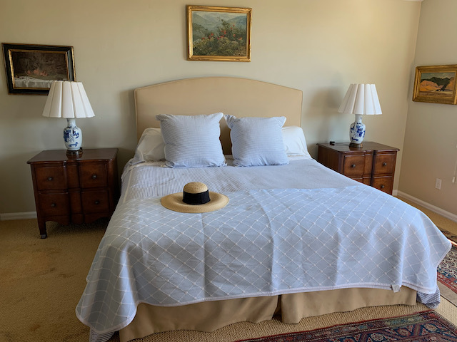 Hasten's King Bed~ Upholstered  Headboard
