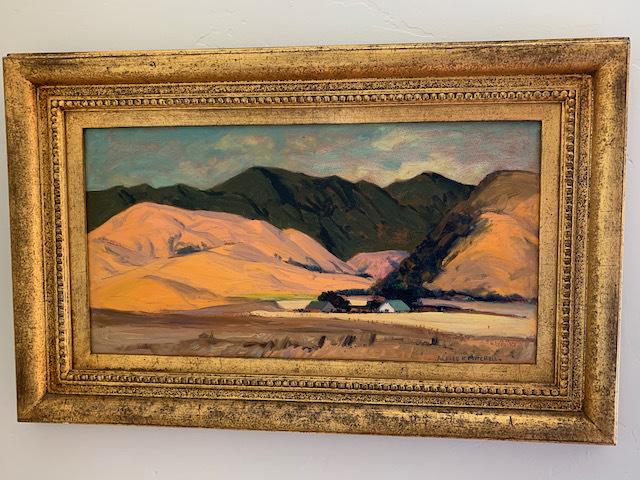 """Oil by Alfred R. Mitchell """"Santa Cruz"""""""