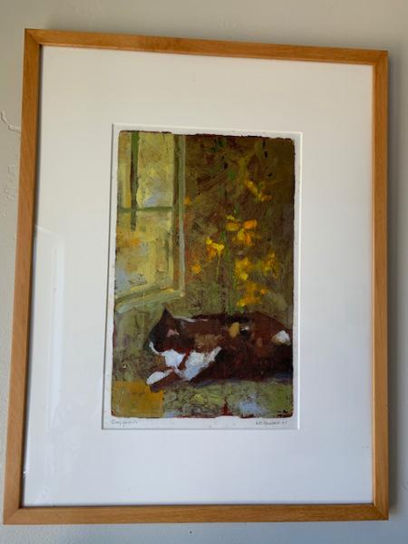 """Oil by W.B.Hansen """"Daffoldils"""""""