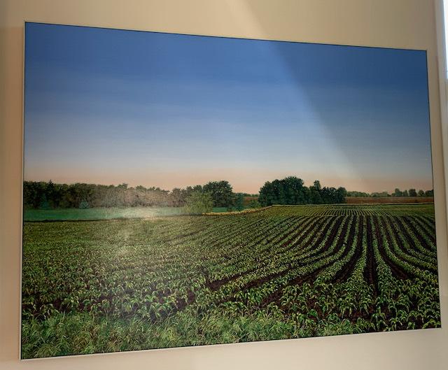 "Oil by Harold Gregor ""Illinois Landscape"""