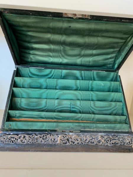Inside Silver Letter Box