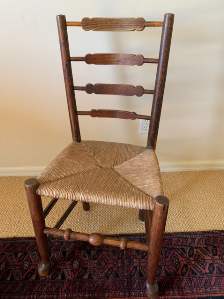 Rush Seat Side Chair
