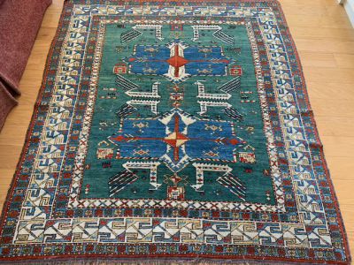 Middle Eastern Area Rug ~6' x 5'2""