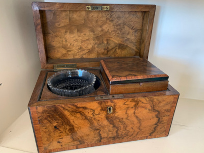 Antique Tea Box (open)
