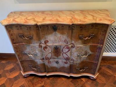 Large console chest, Habersham Camden