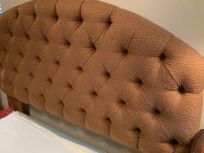 Tufted upholstered QUEEN headboard