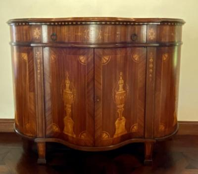 Inlaid Cabinet by Decorative Crafts