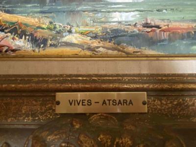 Jose Vives-Atsara painting (close up)
