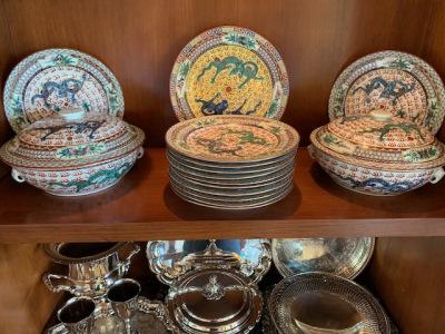 Vintage Hong Kong dinner ware