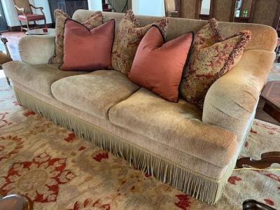 Chenille Sofa Artifact