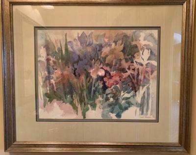 Original watercolor painting by Lano Tressler
