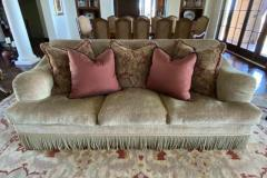 Chenille Sofa Artifact