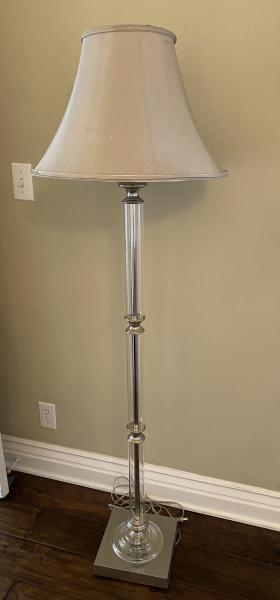 Acrylic-Silver-Lamp